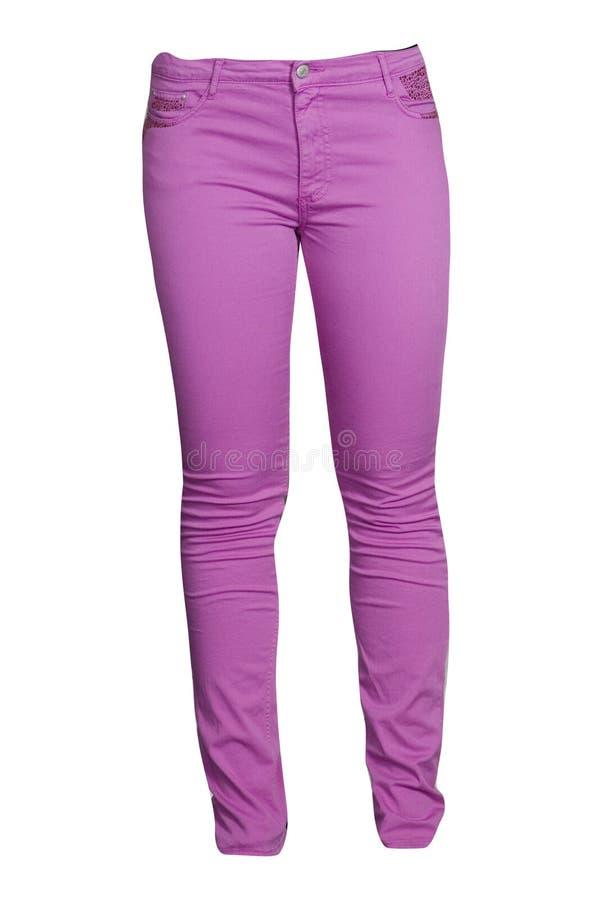 Roze jeans royalty-vrije stock fotografie