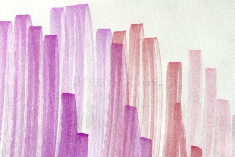 Roze Krabbelachtergrond Stock Afbeeldingen