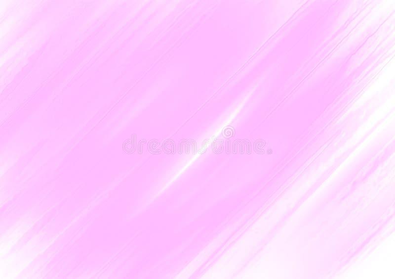 Roze kwaststreken achtergrondbehangontwerp royalty-vrije stock afbeeldingen