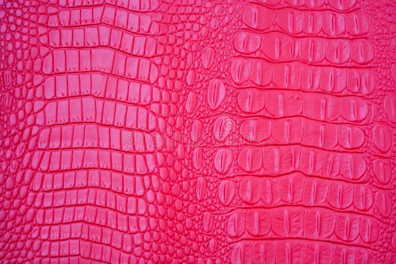 Roze Leer stock fotografie