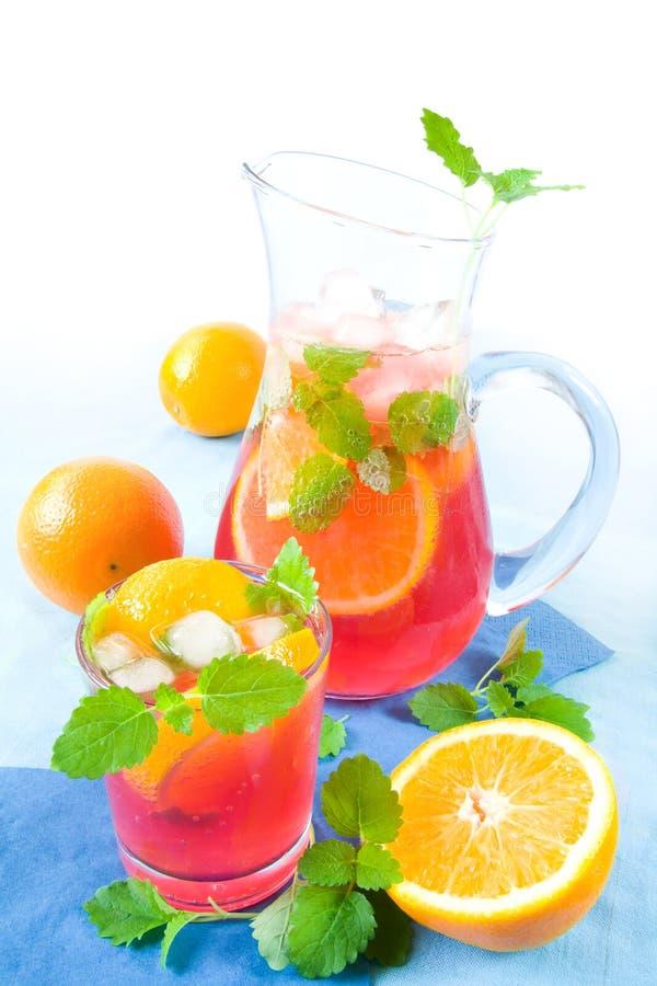 Roze limonade stock fotografie