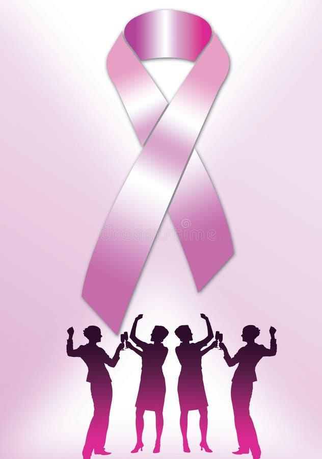 Roze Lint 002 vector illustratie
