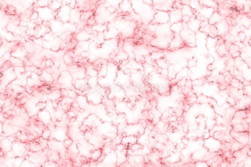 Roze marmeren abstracte achtergrond en textuur voor patroon of produ royalty-vrije stock afbeeldingen