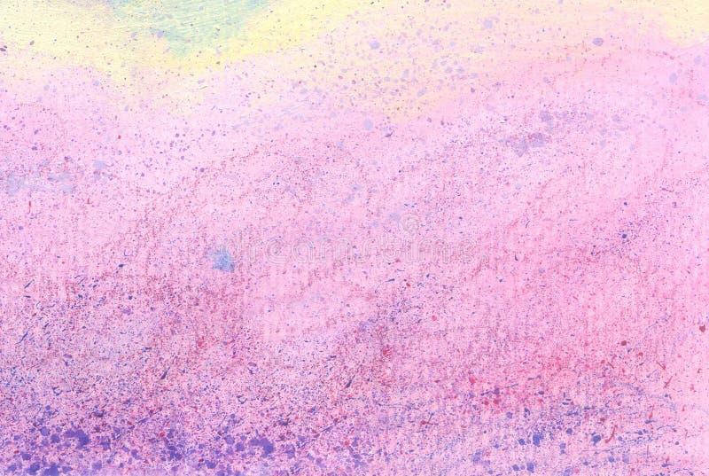 Roze met de hand gemaakte en abstracte textuur stock afbeeldingen