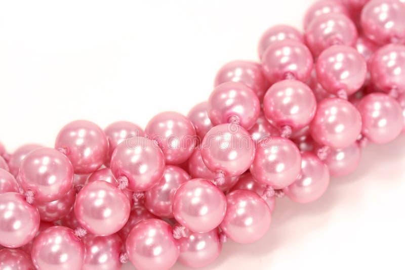 Roze parels royalty-vrije stock fotografie
