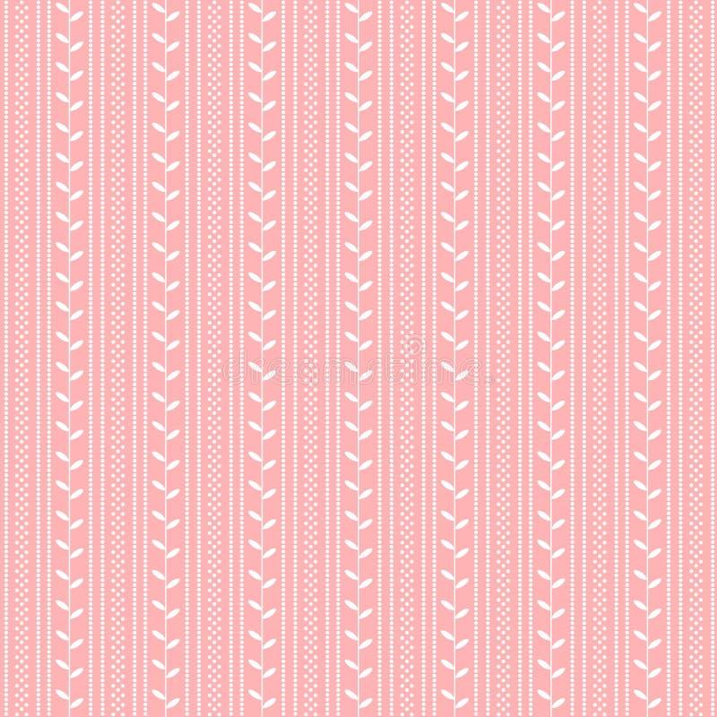 Roze patroon stock illustratie