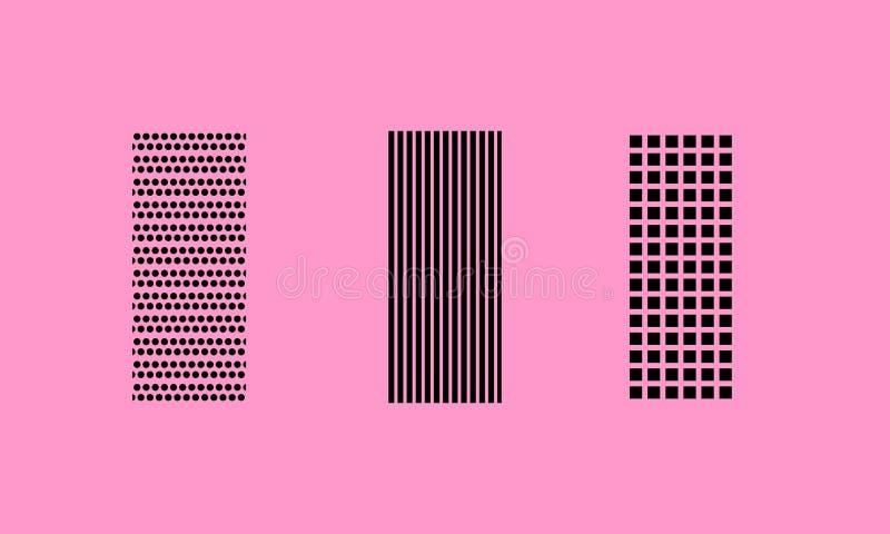 Roze patroon vector illustratie