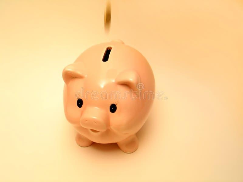Download Roze piggy 2 stock foto. Afbeelding bestaande uit spaart - 35124