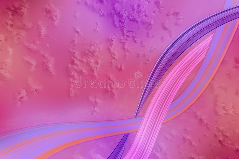 Roze/Purper Abstract Behang royalty-vrije stock foto's
