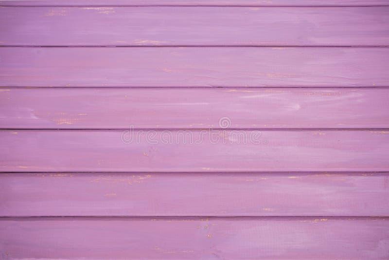 Roze/Purpere Echte Houten Textuurachtergrond royalty-vrije stock fotografie