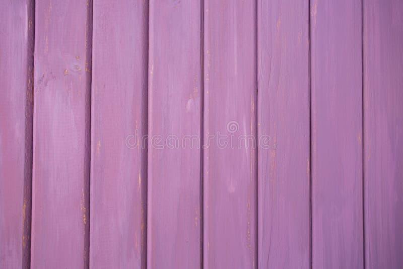 Roze/Purpere Echte Houten Textuurachtergrond stock foto's