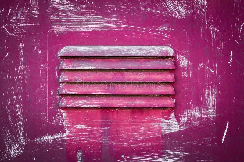 Roze rooster stock afbeelding