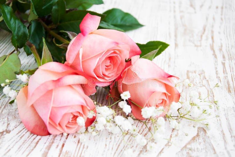 Download Roze rozen stock afbeelding. Afbeelding bestaande uit valentines - 29506307