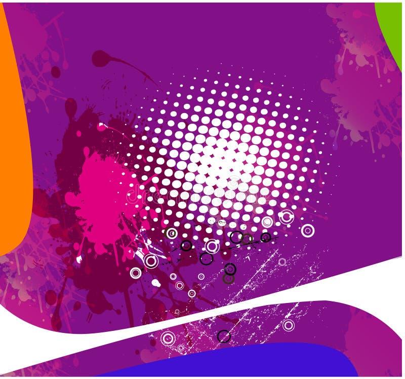 Roze samenvatting als achtergrond stock illustratie