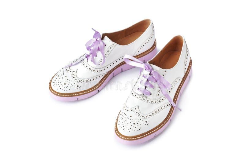 Roze schoenen royalty-vrije stock foto