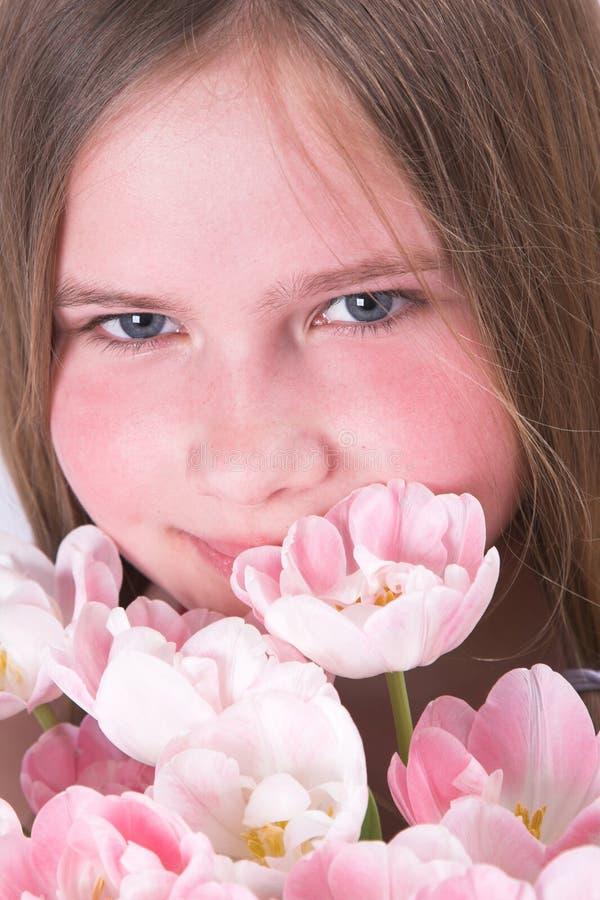 Roze schoonheid royalty-vrije stock foto's