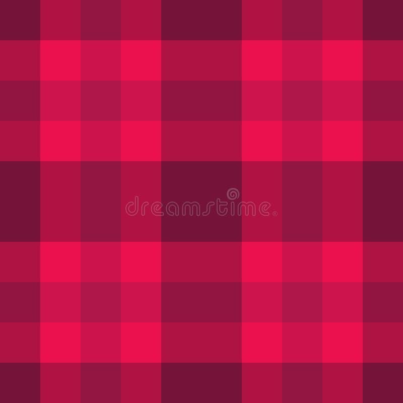 Roze Schots patroon stock illustratie