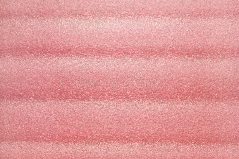 Roze schuimplastic royalty-vrije stock foto