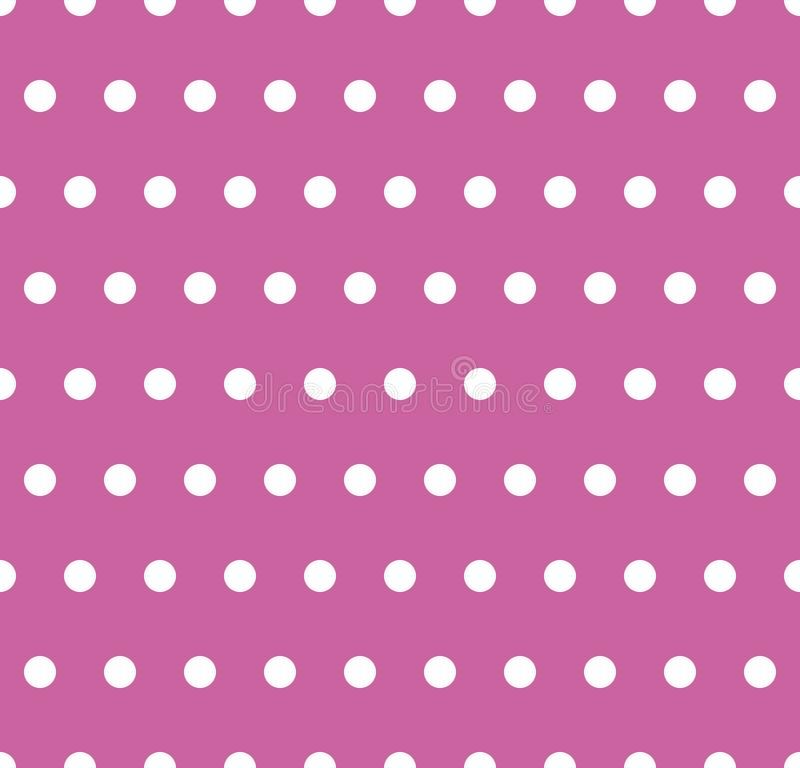 Roze stippen vector illustratie