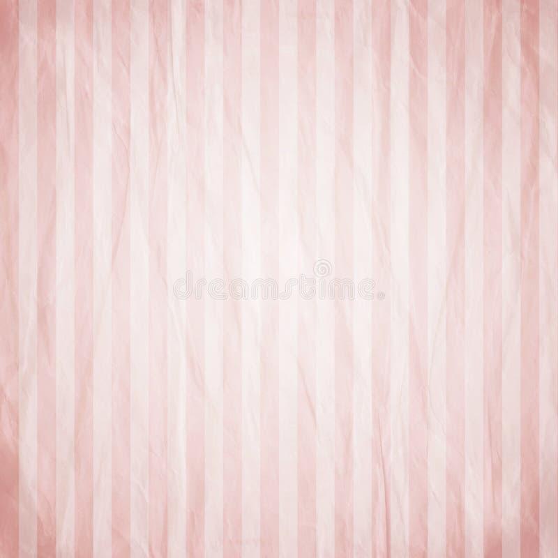 Roze streepachtergrond vector illustratie