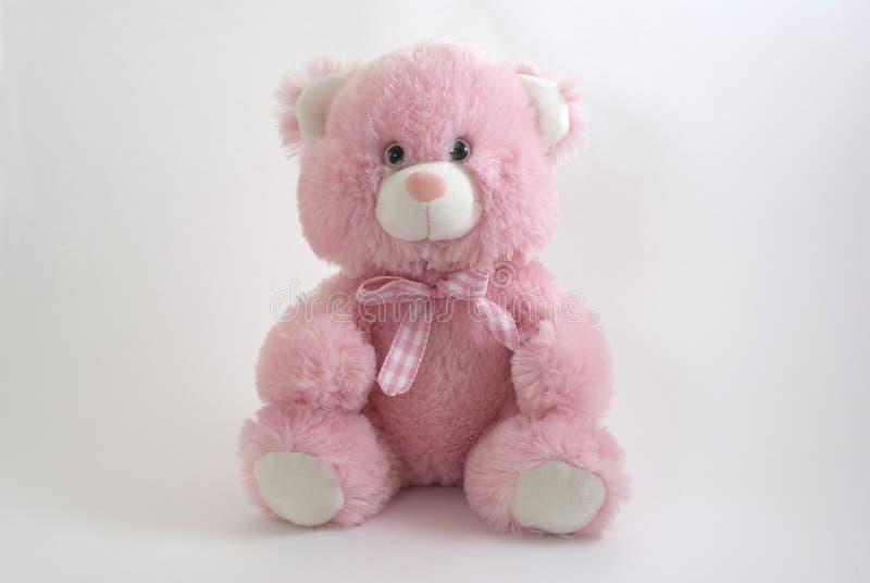 Roze teddybeer royalty-vrije stock afbeeldingen