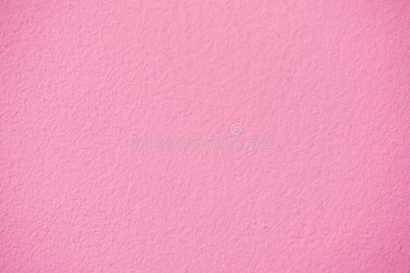 Roze textuurbehang van van muur Gesloten omhooggaand en volledig van copyspa stock foto