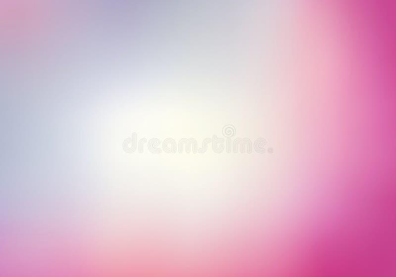 Roze vage achtergrond met lichtblauw royalty-vrije stock afbeeldingen