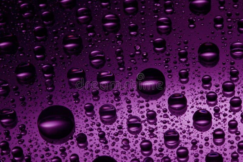 Roze waterdalingen stock foto