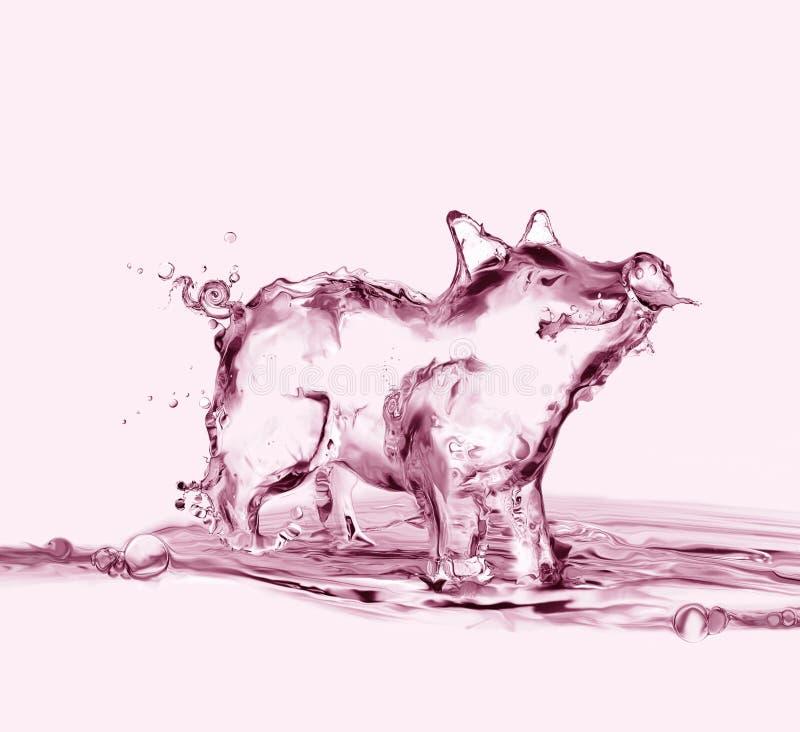 Roze Watervarken stock afbeeldingen