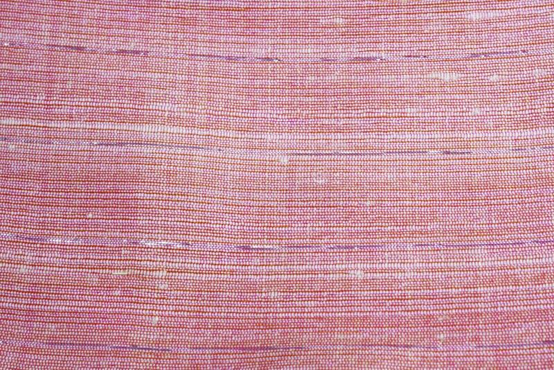 Roze zijde Geweven stof royalty-vrije stock foto