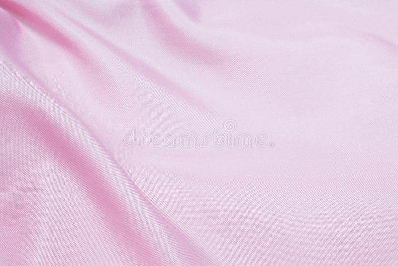 Roze zijde of satijn stock afbeeldingen