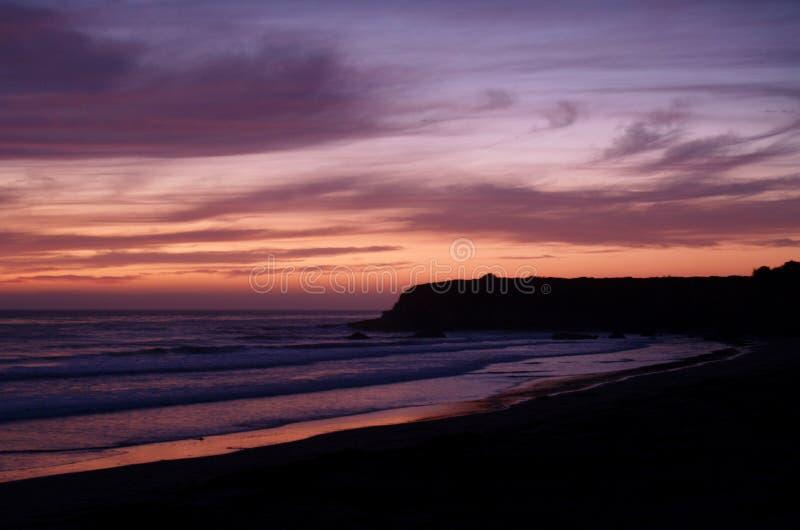 Roze Zonsondergang stock fotografie