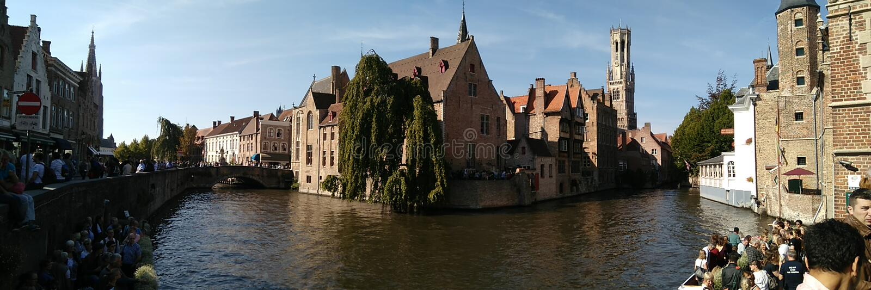 Rozenhoedkaa, Brugge obrazy stock