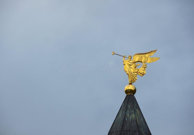 Rozgłaszanie anioł zdjęcie stock