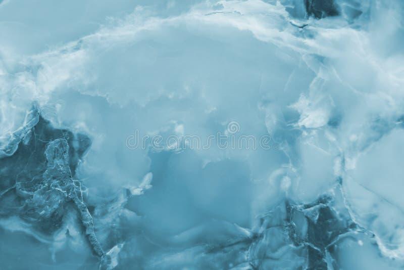 Rozjaśniający błękitnych plasterków marmurowy onyks obrazy stock