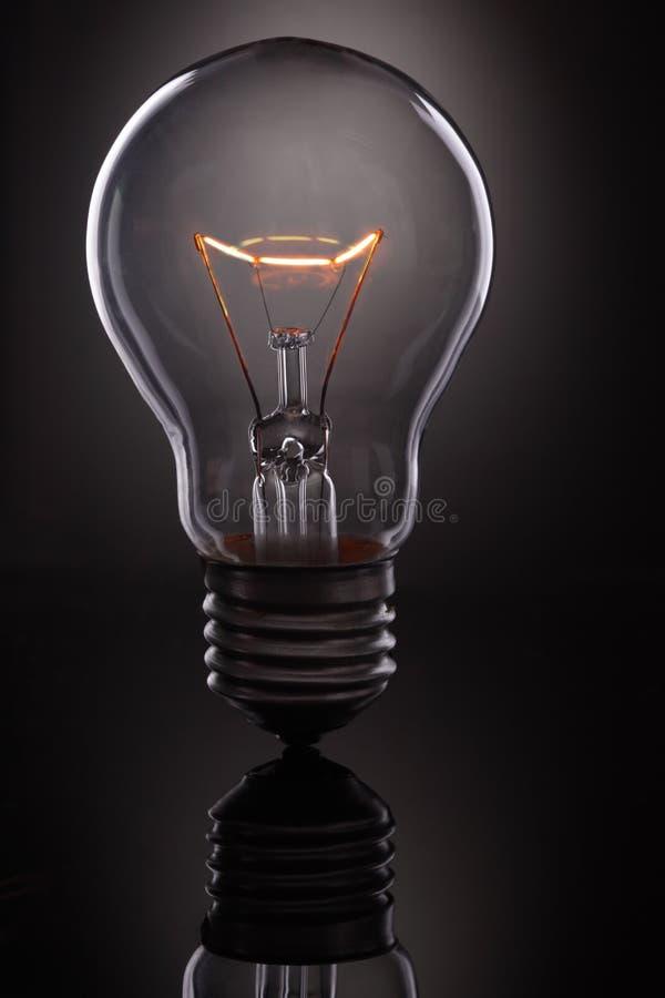 rozjarzona lampa obraz royalty free
