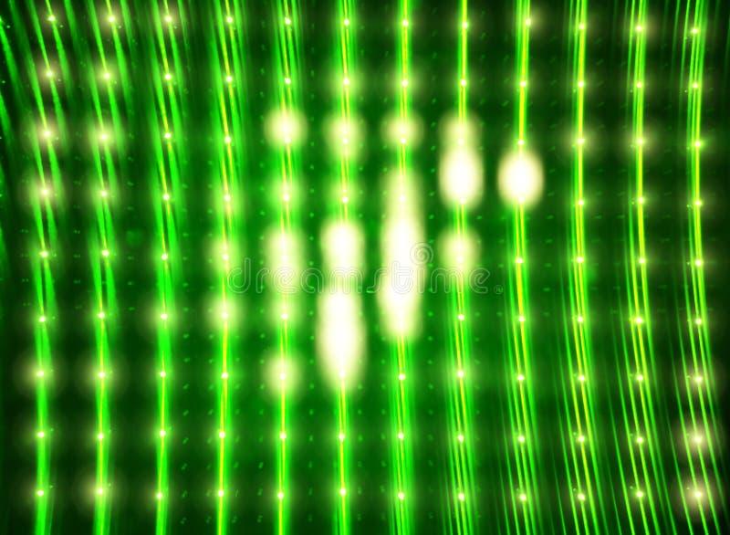 Rozjarzona zieleń prowadzący ścienny tekstury tło zdjęcia royalty free