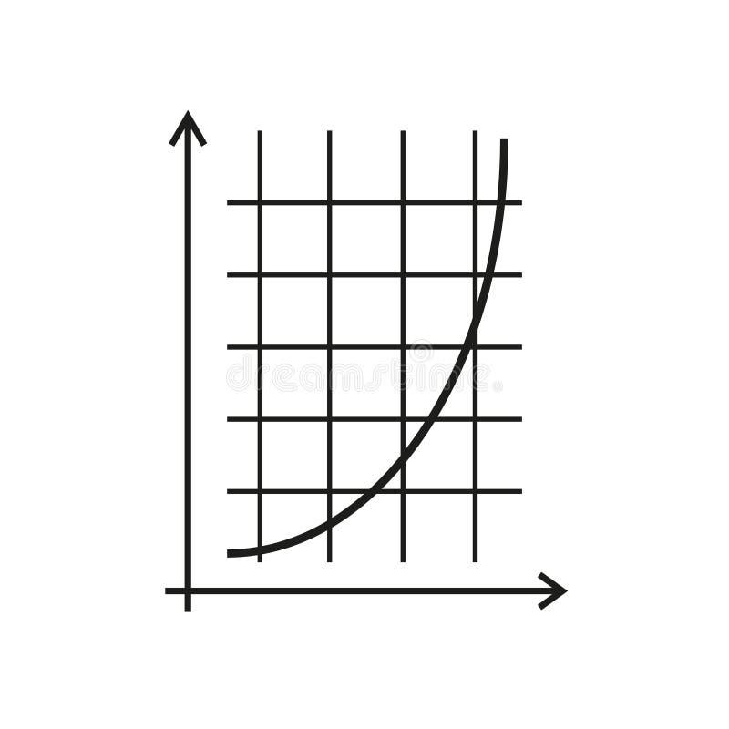 Rozkład matematyki ikona royalty ilustracja