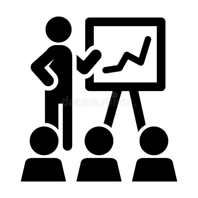 Rozkład prezentacja - akcyjny wektor ilustracja wektor