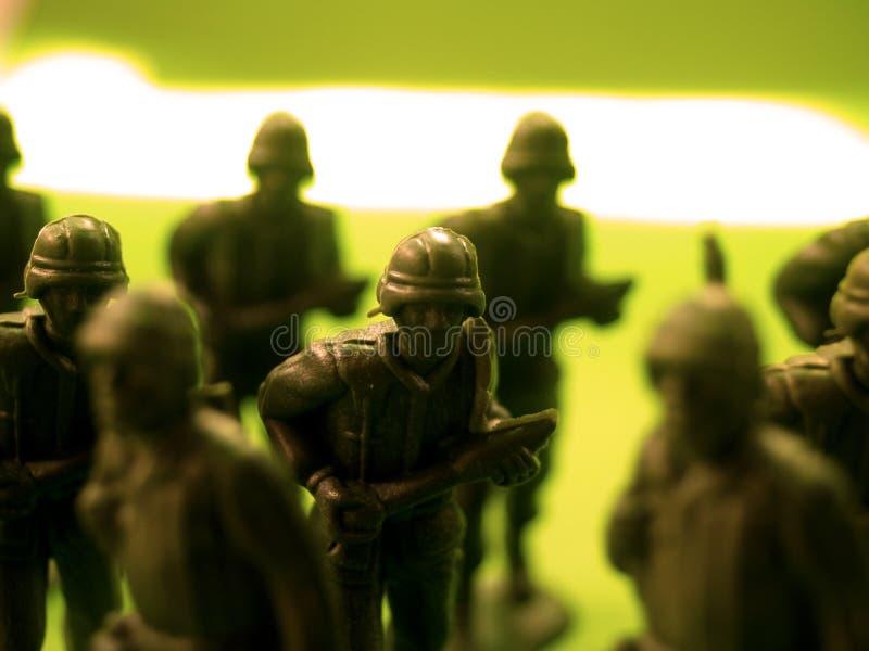 rozkaz 4 żołnierza zdjęcie stock
