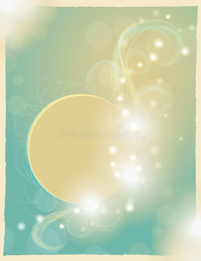 rozmyta ilustracyjna magiczna księżyc