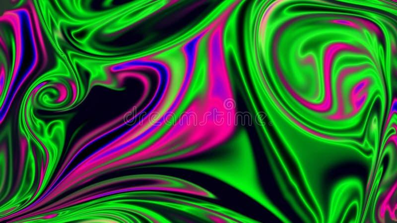 Rozmyty i mażący barwiony tło Dymne tekstury, kontrpara od wody w kolorze fotografia royalty free
