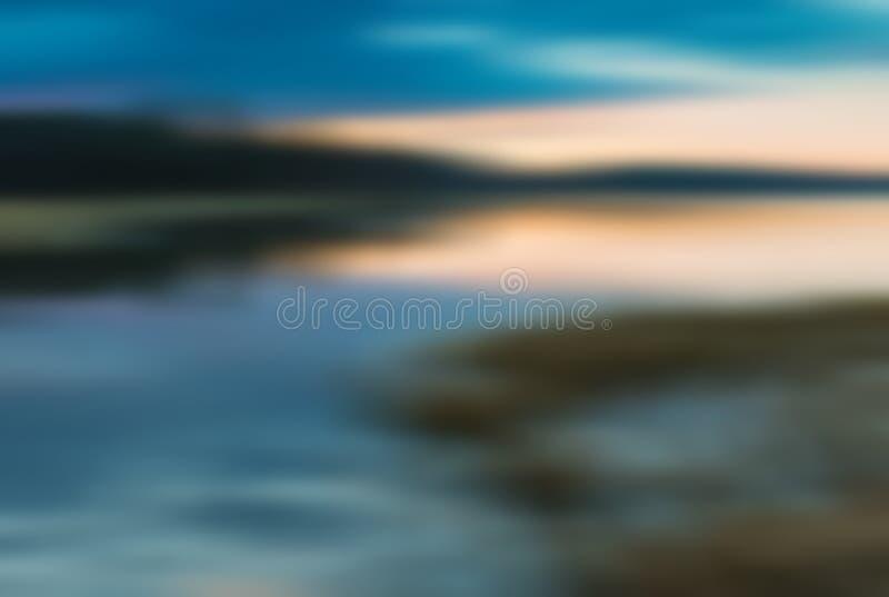 Rozmyty krajobrazowy usefuful jako tło fotografia stock