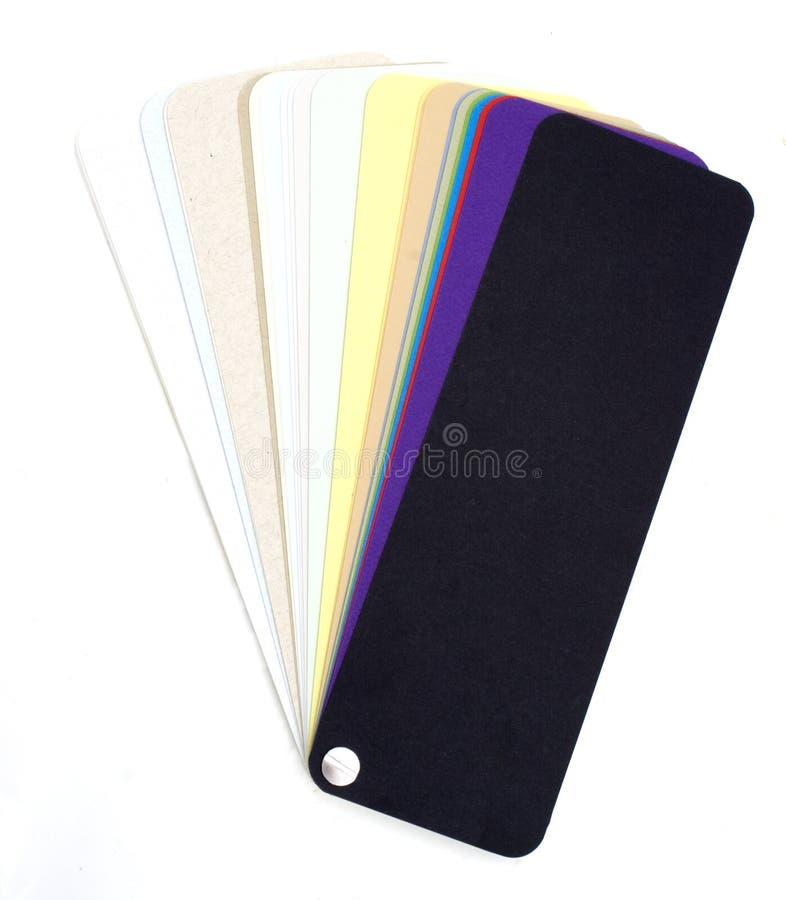 rozniecony colour swatch zdjęcia stock