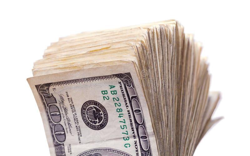 rozniecony pieniądze obrazy stock
