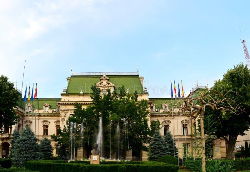 Download Roznovanu pałac Iasi obraz stock. Obraz złożonej z moldavian - 57664413