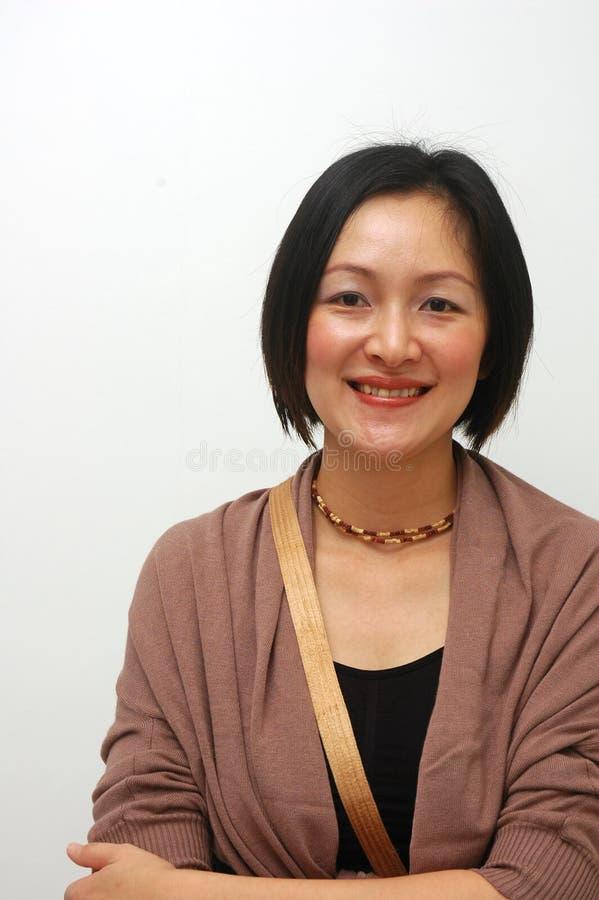 rozochocona chińska dama obrazy stock