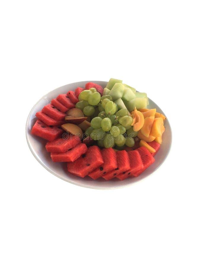 rozochocone owoców mieszania owocowe zdjęcie royalty free