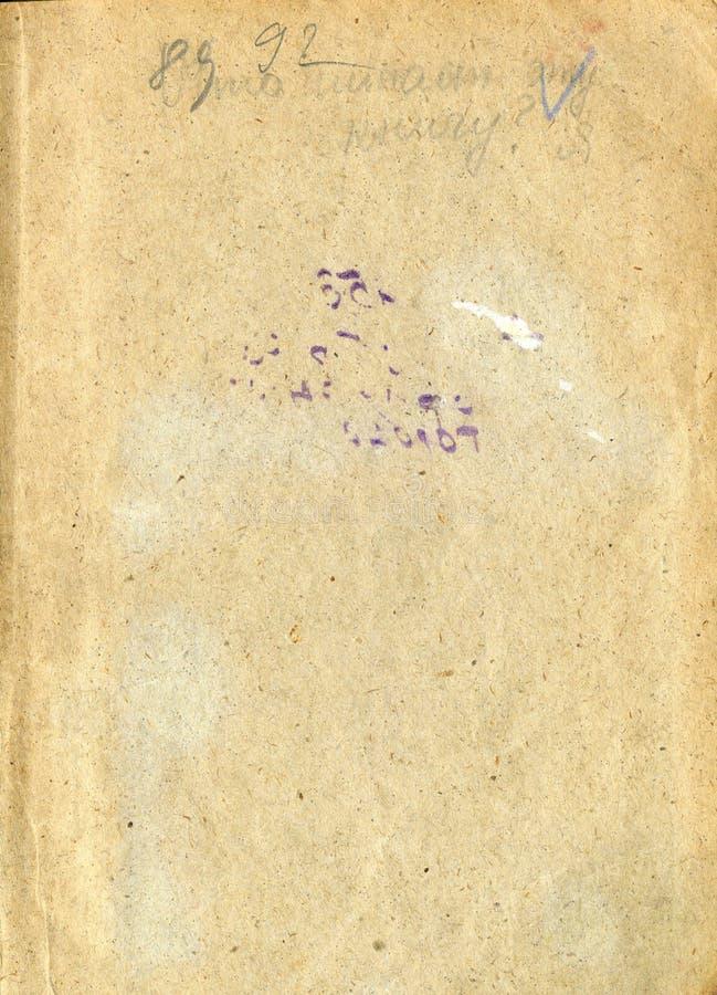 Rozpieczętowana stara książka zdjęcia royalty free