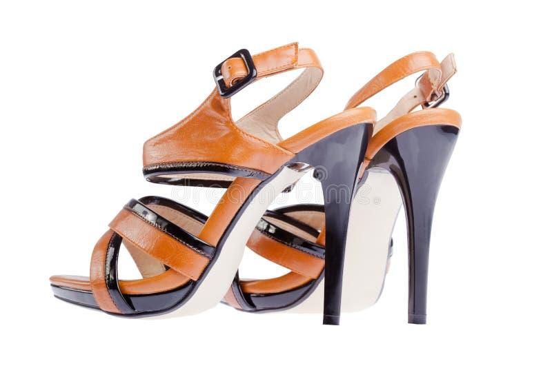 Rozpieczętowani buty zdjęcia royalty free